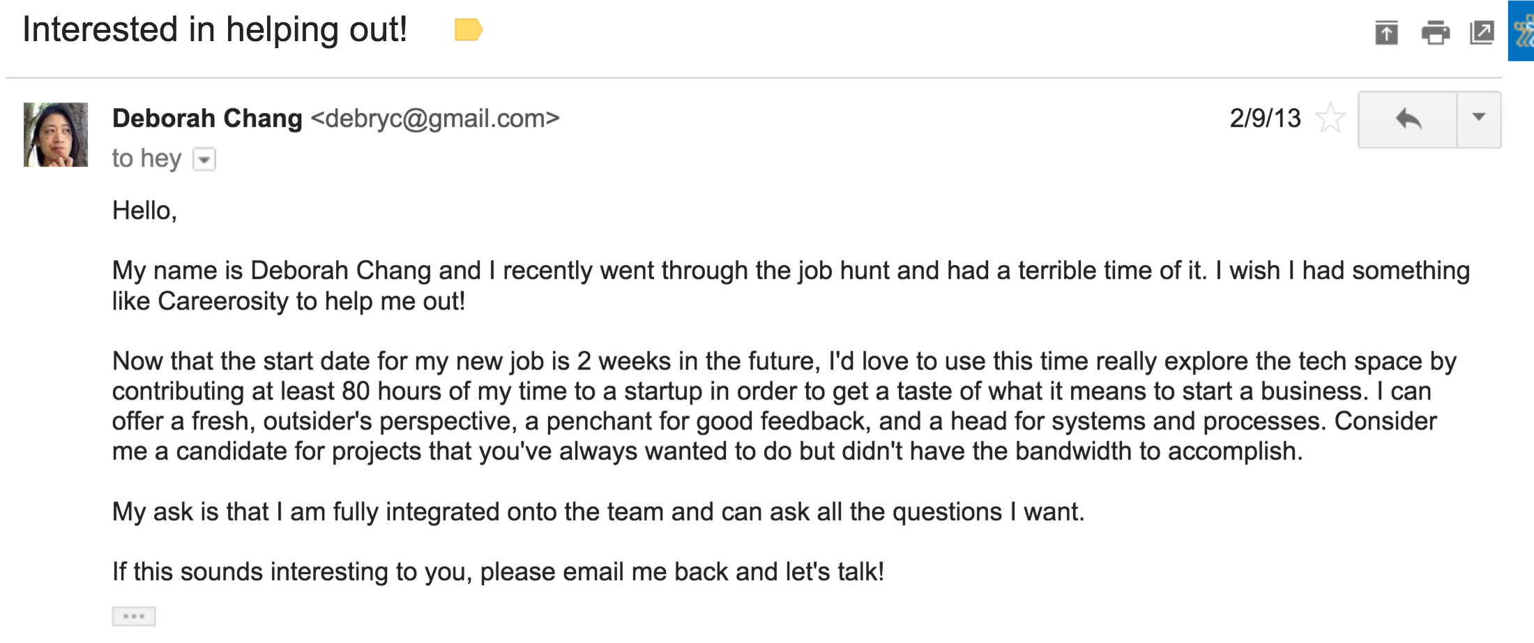 this is the email you send when you want to make an impact do this is the email you send when you want to make an impact do good work build your portfolio and advance your career