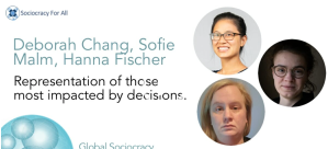 Screenshot of Representation of those most impacted by decisions workshop presentation title page